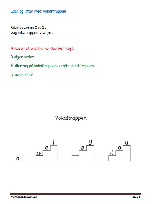 laesskrivvokaltrappen