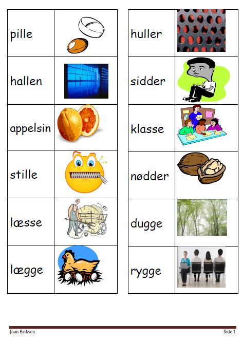 svære ord liste
