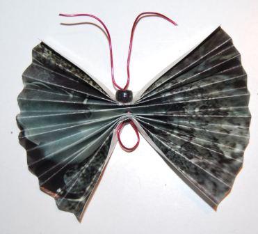 Sommerfugl af papir