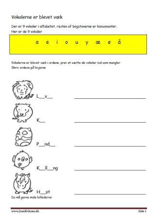 vokalerneerblevetbortekugledyr