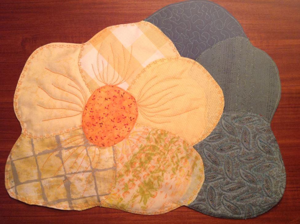 Dækkeserviet free style patchwork