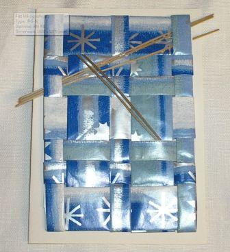 Gavepapir med strå