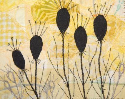 Sorte blomster
