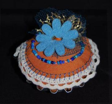 Cupcage med blomst