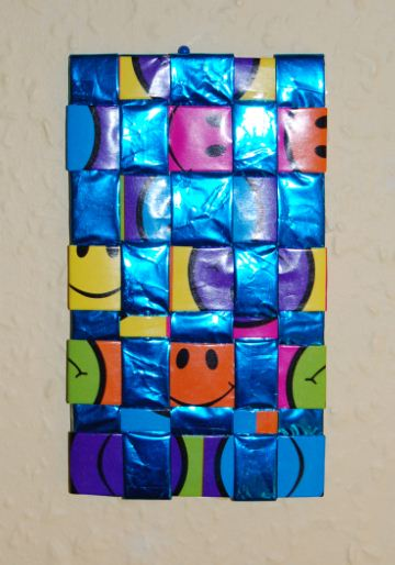 Smiley papir