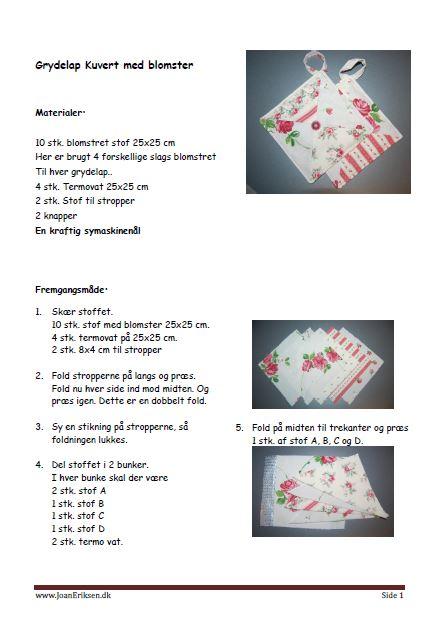 grydelap-kuverttrekanterblomster