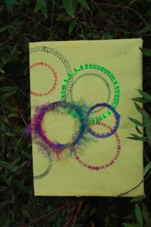 Bogomslag med cirkler