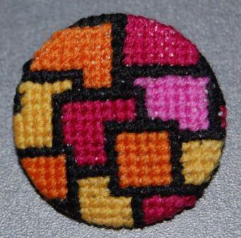 Mosaik inspireret af Tenneriffe