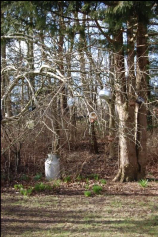 kopper og kande i træ