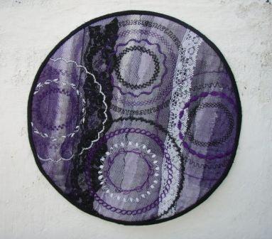 Cirkel 1001 nat og quiltet med cirkler