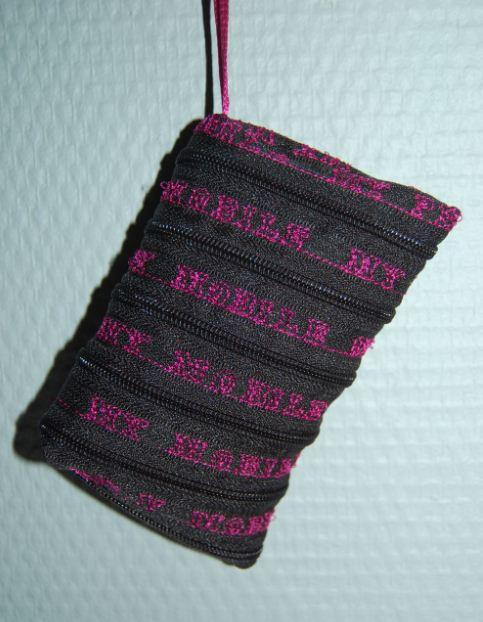 Mobilpose med tekst