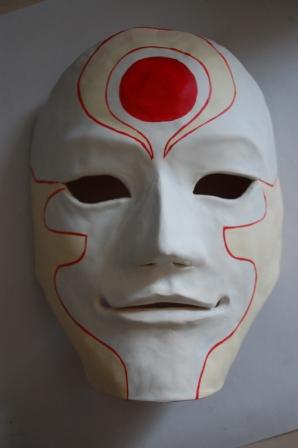 Malet maske