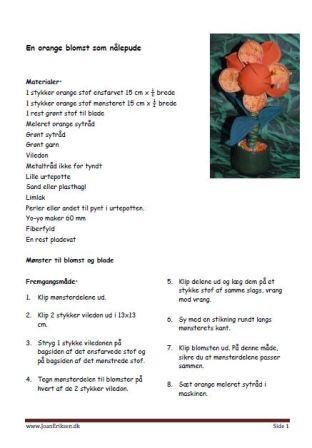 orange-blomst-som-naalepude
