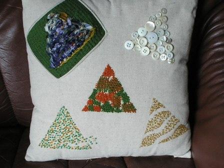 Pude med trekanter