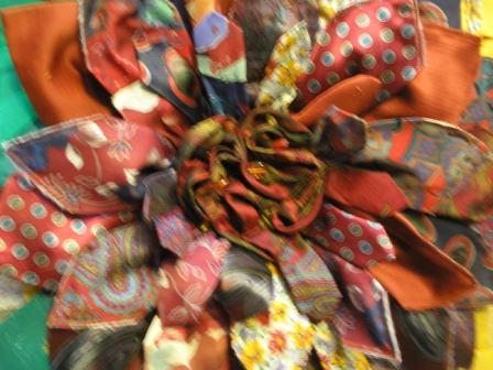 Detalje af slipseblomst