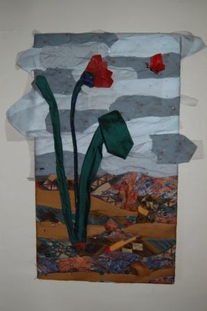 Blomsterbillede af slips