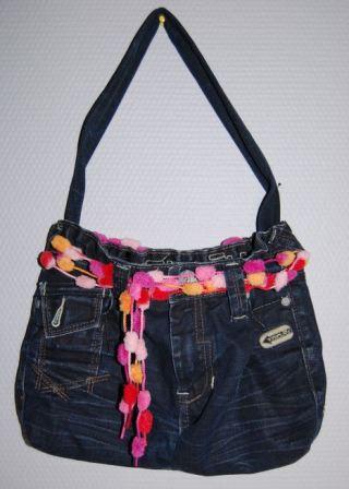 Taske af cowboybukser