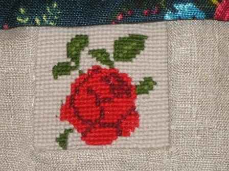 Pose med stramaj rose