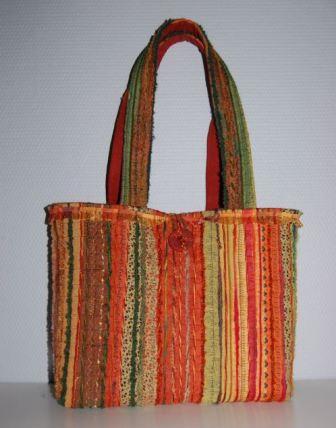 I en taske
