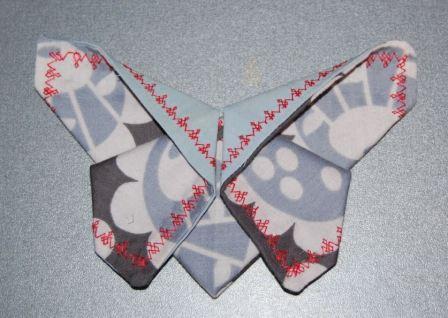 Sommerfugl origami